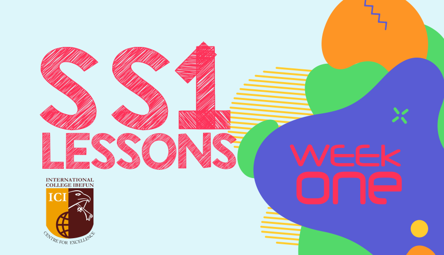 Year-10 Lessons (Week One)